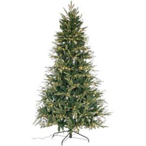 Aprica kunstigt juletræ med 530 led lys H180 cm - Grøn