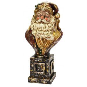 Buste med julemanden H60 cm