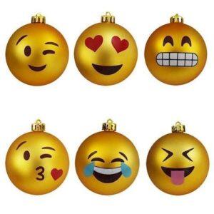 Emoji Julekugler