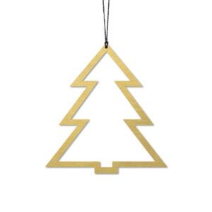 Felius Design - Juletræ, Messing - 2 stk