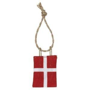 Flag Dannebrog - 4 stk -B 4,5 x H 3,5 cm