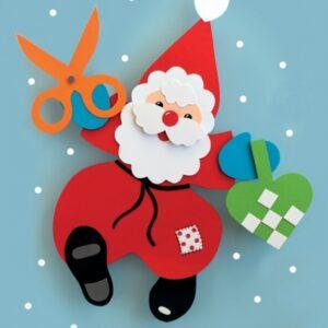 Jul med nisseklip (Bog)