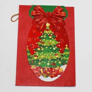 Julekort - Juletræ - 6 x 9 cm