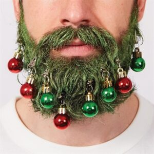 Juleskæg med juletræ