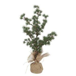 Juletræ Ceder med jutefod - H 37 cm