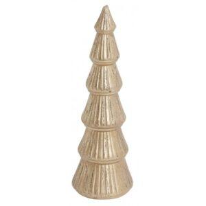 Juletræ H34 cm - Antik guld
