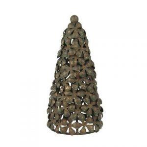 Juletræ antik metal- Stillenat - 16 cm høj