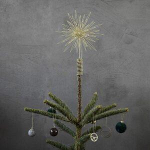 Juletræsstjerne Guld - House Doctor - Dia: 25 cm