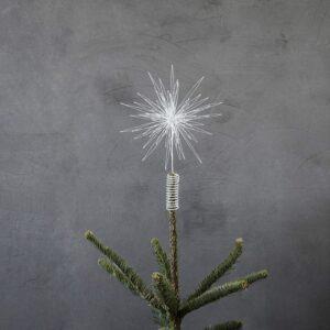 Juletræsstjerne Hvid House Doctor - Dia: 25 cm