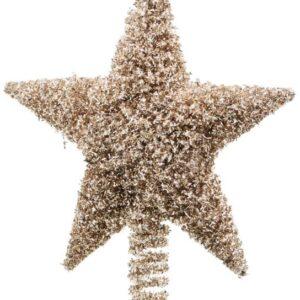 Juletræsstjerne, Joy by House Doctor (L: 26 cm., Guld)