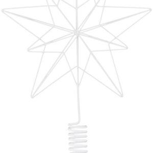 Juletræsstjerne, Wire by House Doctor (H: 22/36 cm., Hvid)