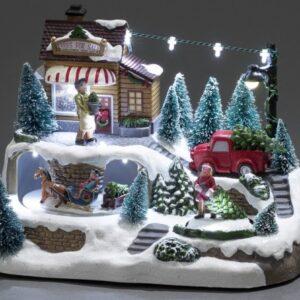 Konstsmide Juletræ Juleby
