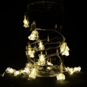 LED-Lyskæde med Bamser 3 meter
