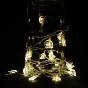 LED-Lyskæde med Nissehuer 3 meter