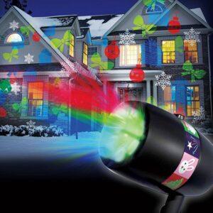 Magic Laser Light LED Projektor med 12 forskellige muligheder