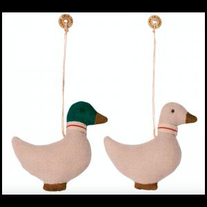 Maileg and - Ornament i stof - Grønt el. hvidt hoved