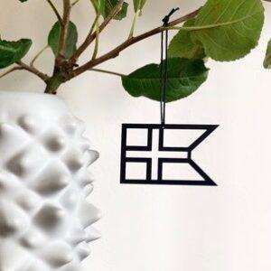 Ryborg Urban Designs - Splitflag Danmark - Sort