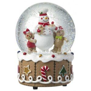 Rystekugle Gingerbread H14 x Ø9 cm