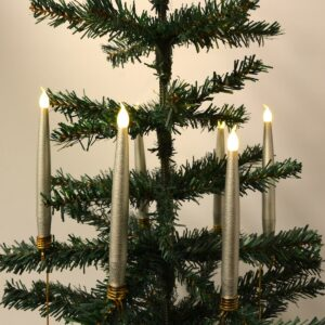 Trådløse LED-juletræslys Passer fx Georg Jensen lysholder (Sølv)
