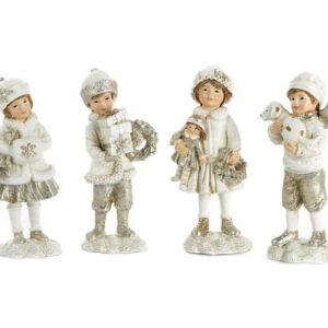 Viktoriansk barn med deko H11,5 cm assorteret