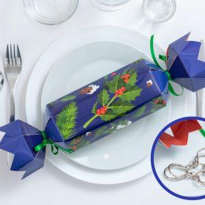 Christmas Crackers med Metalpuslespil 4-pak