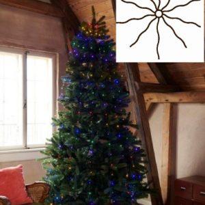 Sirius Knirke Juletræskæde med 234 Multifarvet lys