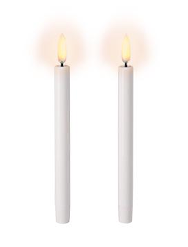 Uyuni LED Juletræslys Hvid 2-pk