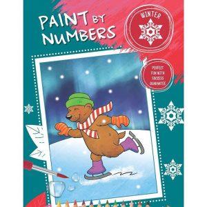 Paint By Numbers Malebog - Vinter