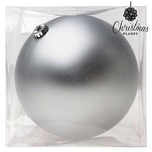 Julekugle Christmas Planet 8835 15 cm Krystal Sølvfarvet