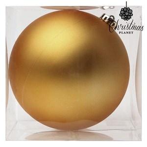 Julekugle Christmas Planet 8859 15 cm Krystal Gylden