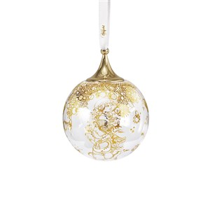 Wiinblad Christmas Julekugle guld Ø7,5 cm