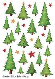 Herma stickers Magic juletræer (1)