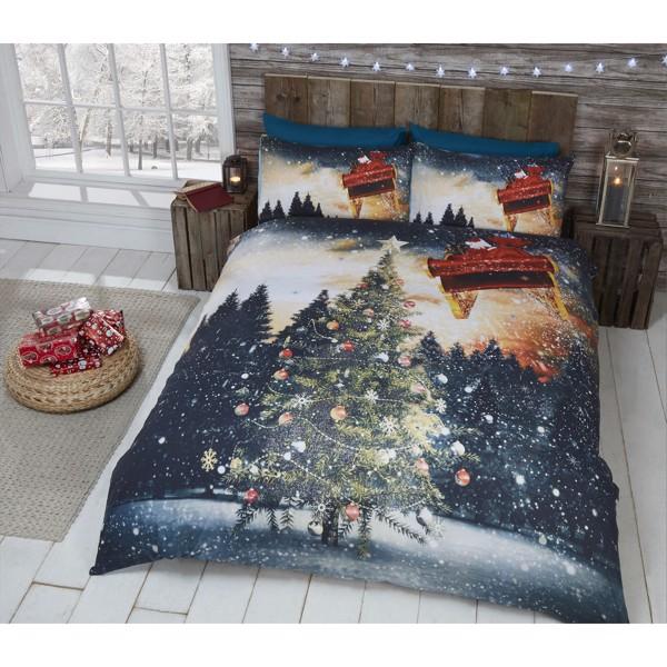 Juletræ Nordlys Sengetøj