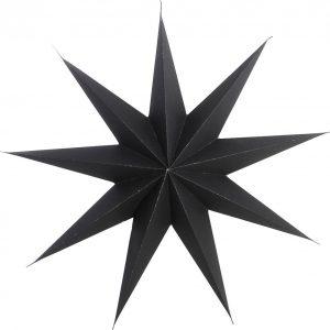 Stjerne, 9 point by House Doctor (B: 45 cm., Sort)