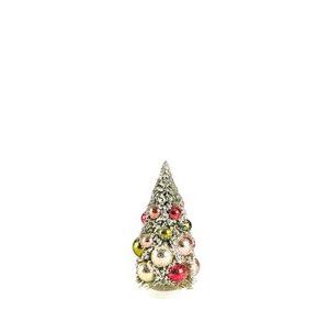 Juletræ Vintage 15 cm grøn