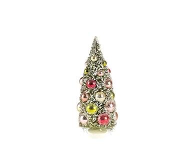 Juletræ Vintage 22 cm Grøn