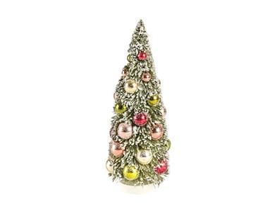 Juletræ Vintage 30 cm Grøn