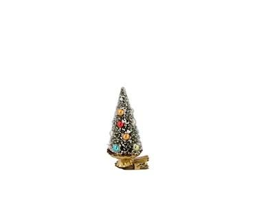 Juletræ på klips Classic x 9 cm Grøn Plast/Metal