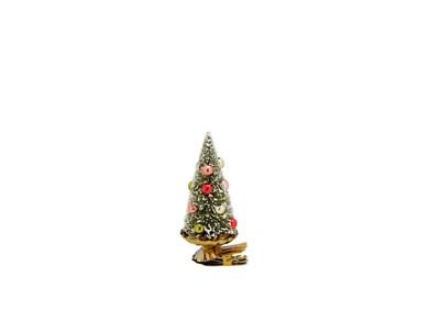Juletræ på klips Modern x 9 cm Grøn Plast/Metal