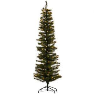 Sirius Alvin Smalt Juletræ med lys 180 cm