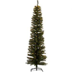 Sirius Alvin Smalt Juletræ med lys 210 cm