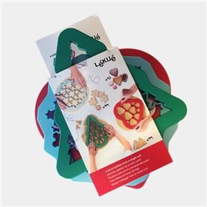Udstikssæt Christmas Cookies, 3 stk. - L0200103SUR