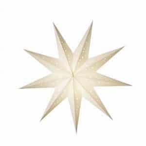 0 - 2021 - Stjernelampe - Bianco str. M