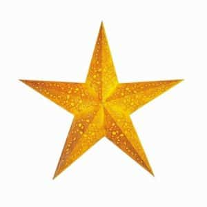 0 - 2021 - Stjernelampe - Mono Yellow str. M