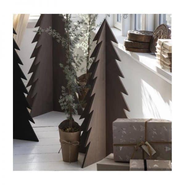 Juletræ brunt - Ib Laursen H: 70 cm