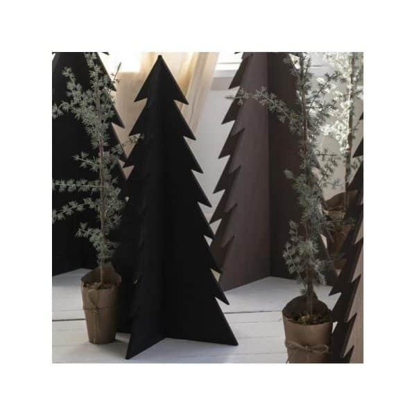 Juletræ sort - Ib Laursen H: 70 cm