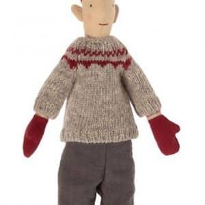 Mini Pixy Julenisse - Dreng - Strikket Trøje (31 cm.) - 2021 kollektion