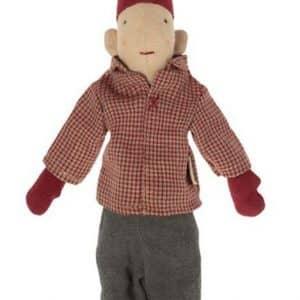 Pixy Kravlenisse - Dreng - Rød Skjorte (25 cm.) - 2021 kollektion