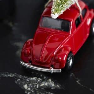 XMAS CAR rød House Doctor - Stor