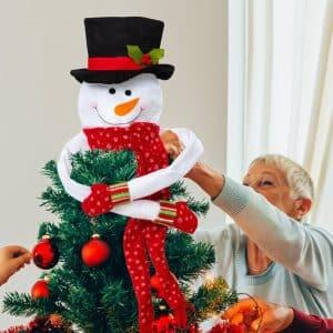 Spralla® Snemand Juletræspynt